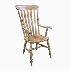 19th Century English Chair in Beech and Elm