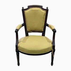 Louis XVI Style Armchair in Beech