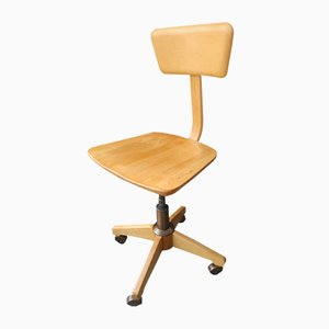 Workshop Swivel Chair with Wheels
