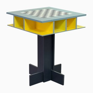 Dutch Chess or Game Table by Peter Spaans, 1990s