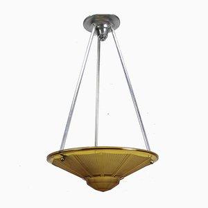 Französische Art Deco Lampe