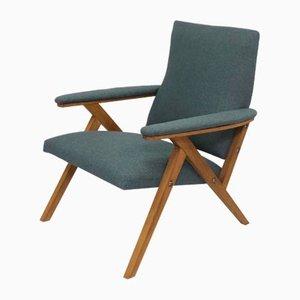 Scandinavian Beech Armchair, 1960s