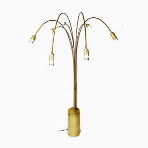 7-Arm Arc Floor Lamp, 1970s