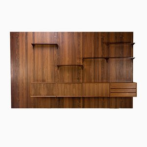 Rosewood Wall Shelf by Poul Cadovius, Denmark, 1960s