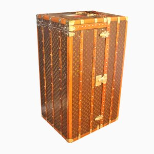 Large Wardrobe or Steamer Trunk by Louis Vuitton