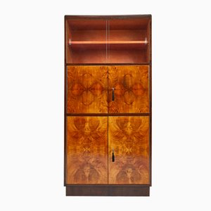 Art Deco H Series Secretaire Cabinet by Jindrich Halabala for UP Závody, 1930s