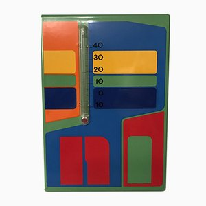 Lavoro grafico / termometro di Claude Faure, 1975