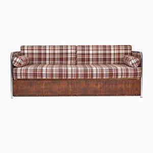 Hungarian Bauhaus 3-Seat Sofa by Jozsef Peresztegi, 1940s