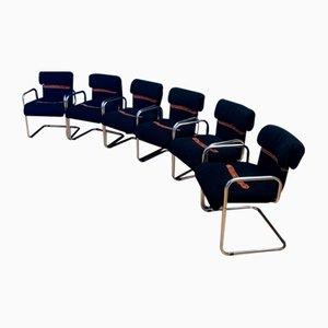 Stühle von Guido Faleschini für i4 Mariani, Italien, 1970er, 6er Set
