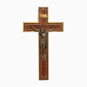Antikes französisches Kruzifix von Hardy