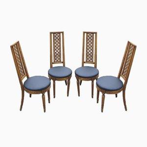 Esszimmerstühle von Jasienica, 1960er, 4er Set