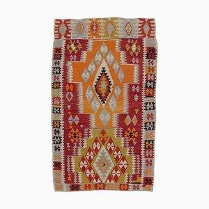Vintage Turkish Wool Runner Rug