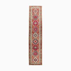 Vintage Turkish Pink Wool Runner Rug