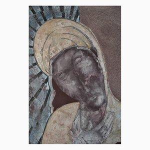 Pieta: Contemporary Figurative Oil Painting by Sax Berlin, 2011