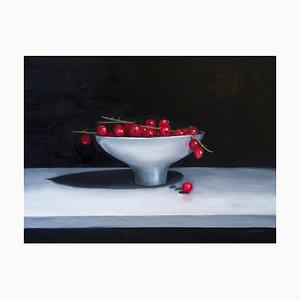 Redcurrants in a Ceramic Bowl, 2019