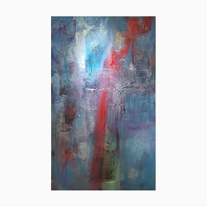 Earth's Lost Remains II, Abstract Expressionist Painting, 2019
