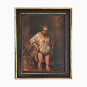 Femme au Se baigner Rembrandt