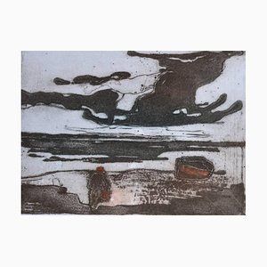 Gathering Storm, Contemporary Limited Edition Etching, 2011