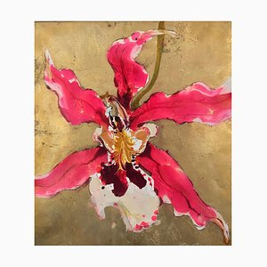 Orchid, Contemporary Figurative Painting, 2019