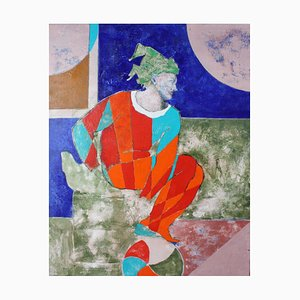 Choreographer, Contemporary Figurative Oil Painting, 2015