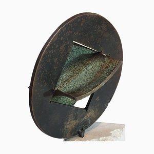 Glockenstein, Bronzeguss Skulptur