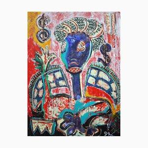 Dollarngel, Contemporary Expressionist Street Art, 2018