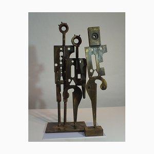Escultura contemporánea de acero, People Like Us, 2018