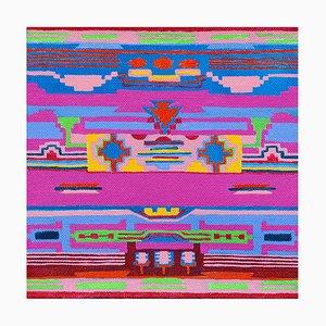 Decke der Gebete und Gemälde, Contemporary Abstract Painting