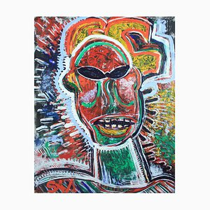 SAMO in Shades: Contemporary Homage to Basquiat by Sax Berlin, 2018
