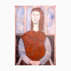 What Light in Yonder Window Breaks, Contemporary Figuratives Ölgemälde, 2002