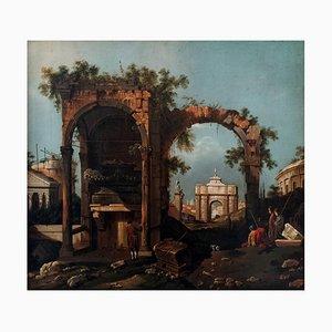 Capriccio mit Ruinen