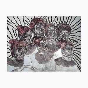 La grande scoperta del volto di Dio, olio su tela, 2006