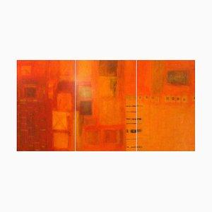 Harmonisches Triptychon von Patricia McParlin, 3er Set