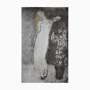 Party Girl, Contemporary Limited Edition Etching, 2013