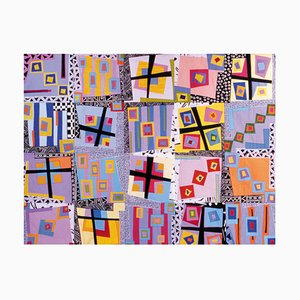 Ice Cold in Alice, Quilt Wall Hanging