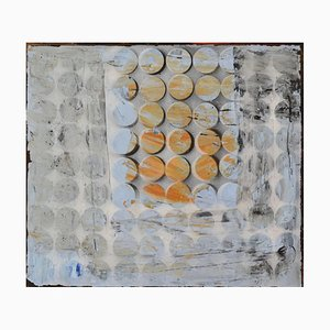 Blue Shift, Mixed Media Contemporary Gemälde von Peter Rossiter, 2015