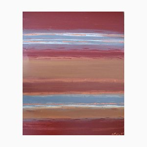 Red Earth, Contemporary Abstract Painting, 1990s