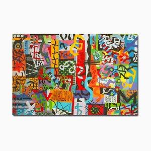 Taffiti Graffiti, Courtepointe Contemporaine