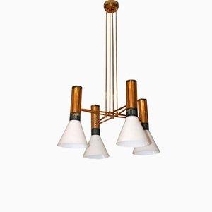 Lámpara colgante A1197 de Stilnovo, años 60