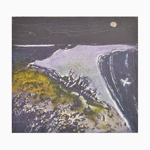 Moonlight in Purple, Contemporary Limited Edition Etching, 2016