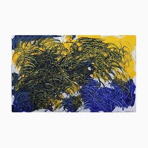 Weizenfeld mit Krähen, nach Vincent, Contemporary Surrealist Ölgemälde, 2020