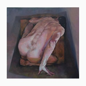 Consignment Batch 11 Unit 9, Contemporary Figurative Oil Painting, 2015
