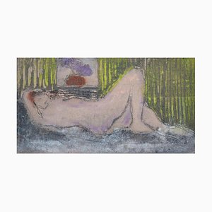 In the Purple, Contemporary Limited Edition Figurative Etching, 2011