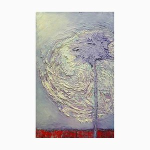 A Constant Within, Contemporary Abstract Expressionist Oil Painting