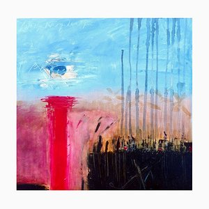 This Is a Moment I Can't Say, Contemporary Abstract Oil Painting, 2017