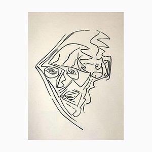 Jerzy Panek, Ritratto di J. Gielniak, 1963