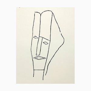 Jerzy Panek, An Attempt at a Portrait of J. Gielniak, 1963