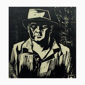 Jerzy Panek, Autoritratto, 1957