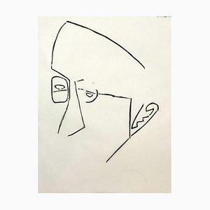 Jerzy Panek, Portrait of Jozef Gielniak, 1967