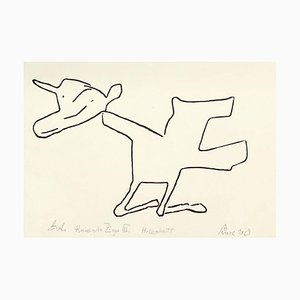 Jerzy Panek, Kneeling Goat III, 1969